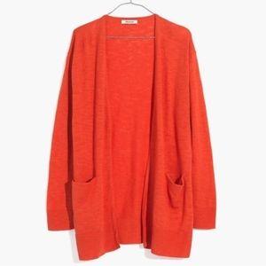 Madewell Cardigan Sweater Long Sleeve XL A397